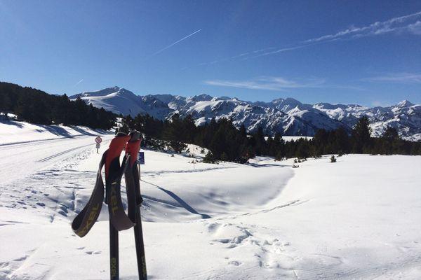 Domaine de ski nordique du plateau de Beille en Ariège