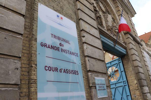 La cour d'assise de Saint-Omer, en juin 2021.