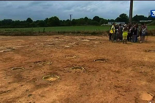 Le site archéologique  gaulois des Herbiers