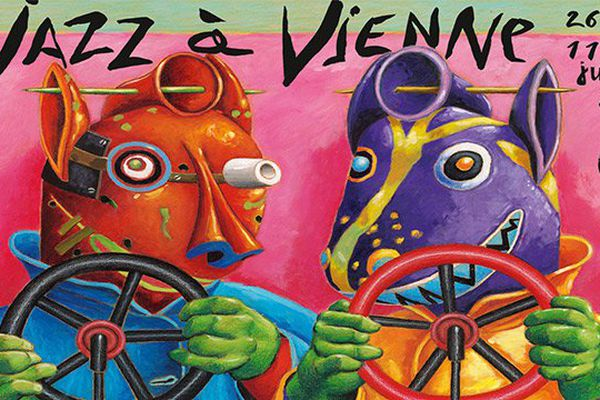 Affiche du Festival Jazz à Vienne 2015