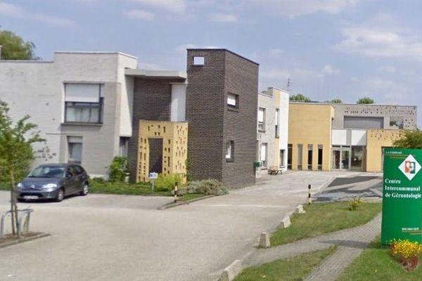 """Le centre inter communal de gérontologie """"La Cerisaie"""" de Bousbecque."""
