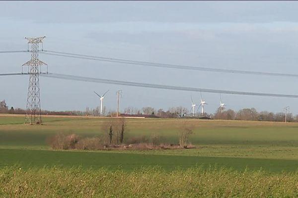 Quatre éoliennes seront implantées entre Calleville-les-deux-Eglises et Tôtes (Seine-Maritime)