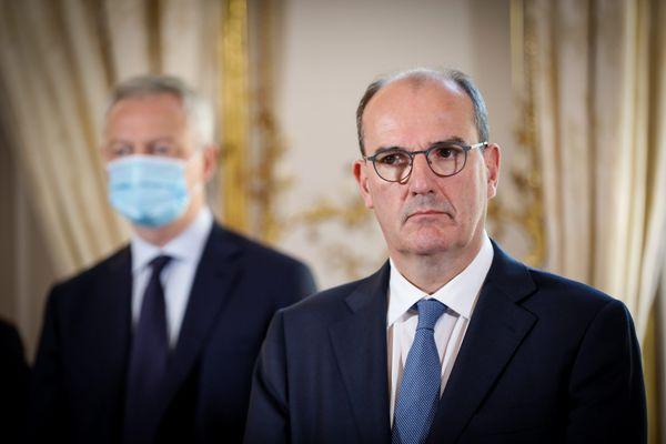 Jean Castex, Premier ministre, se rend à Lille ce lundi matin concernant le port du masque dans les lieux publics ouverts.