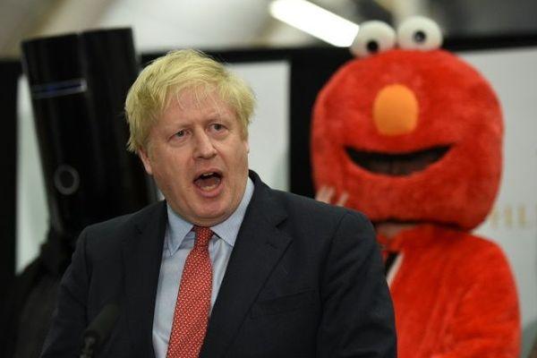 Le Premier ministre britannique Boris Johnson prononce un discours après sa victoire électorale, le 13 décembre 2019 à Londres