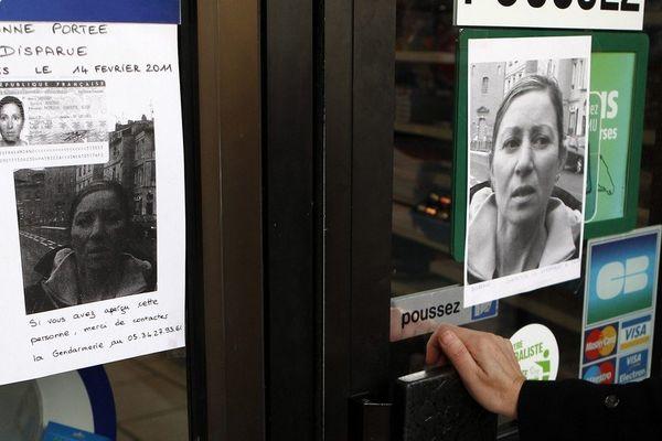 Des affiches avaient été placardée dans toute la région après la disparition de Patricia Bouchon en février 2011