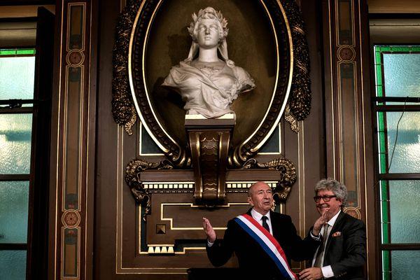Gérard Collomb redevenu maire de Lyon, mais aussi sénateur
