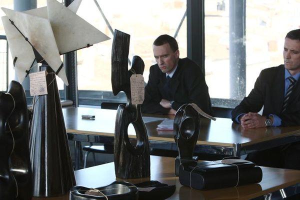 Conférence de Presse suite a la mise en examen de 6 Personnes pour contrefaçons de créations d'Alexandre Noll.
