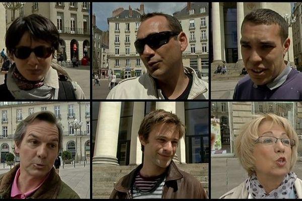 Dans les rues de Nantes, les avis divergent sur la question de l'europe