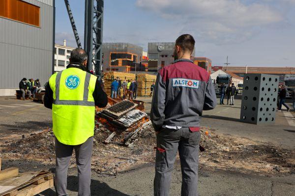 Le site de GE Belfort bloqué depuis mardi