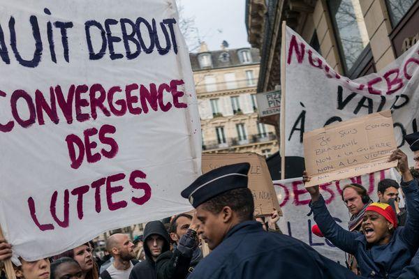A Paris, le 4 avril dernier. (Photo d'illustration)