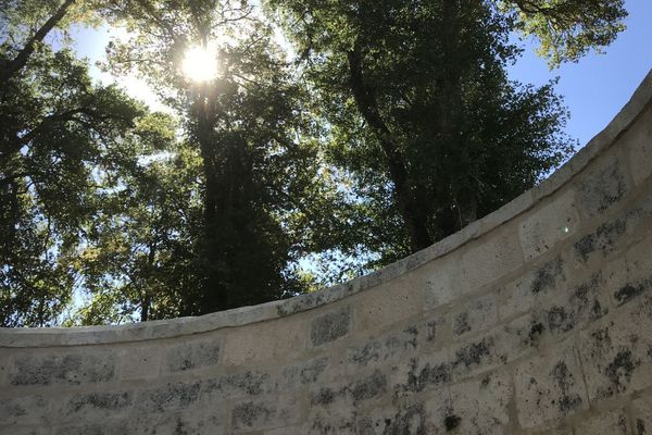 La fosse de Coulmier-le-Sec est un très grand bassin en pierres de taille qui fait 10 mètres de diamètre et 6 mètres de hauteur.
