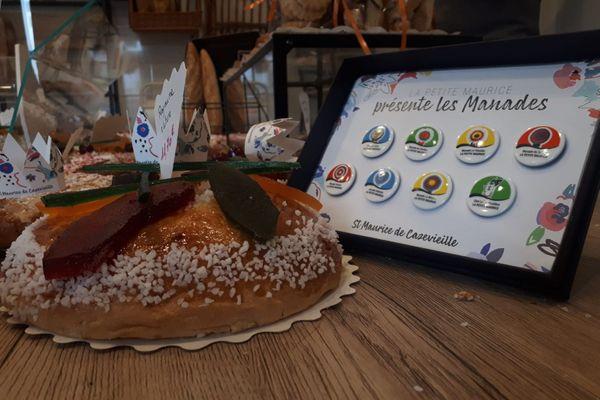 Une Epiphanie sous le signe de la solidarité, dans le Gard ! A Saint Maurice de Cazevieille, le boulanger a fabriqué des fèves à l'image des manades qui participent aux fêtes du village. Une partie des recettes leur sera reversée.