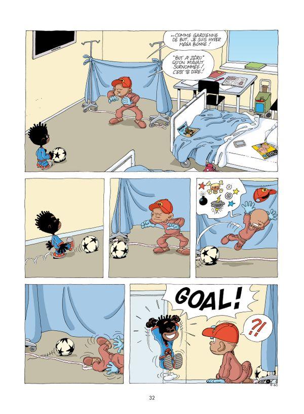 Goal ! Boule à zéro d'Ernst et Zidrou