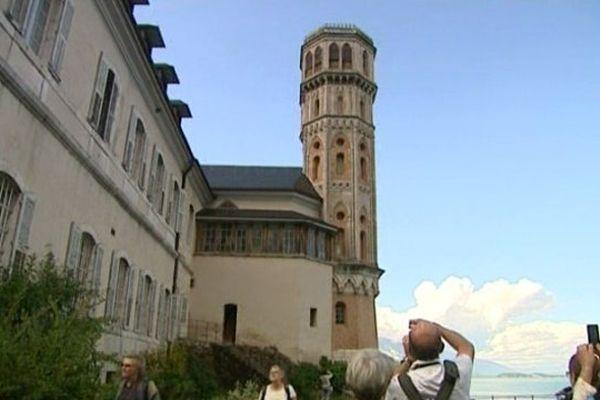 L'Abbaye de Hautecombe, en Savoie.