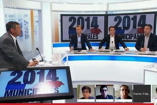 Le débat interactif de France 3 Alpes