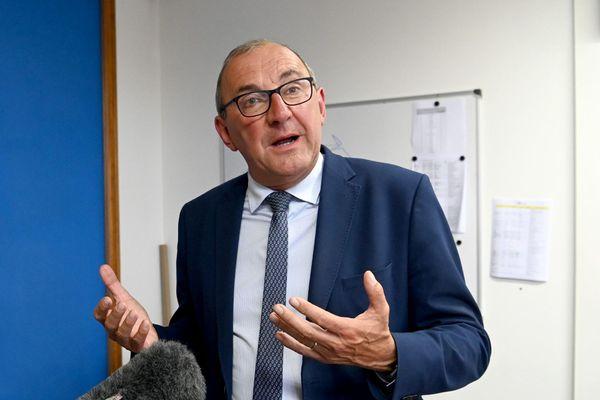 Gilles Pennelle (RN), au second tour des élections régionales 2021 en Bretagne