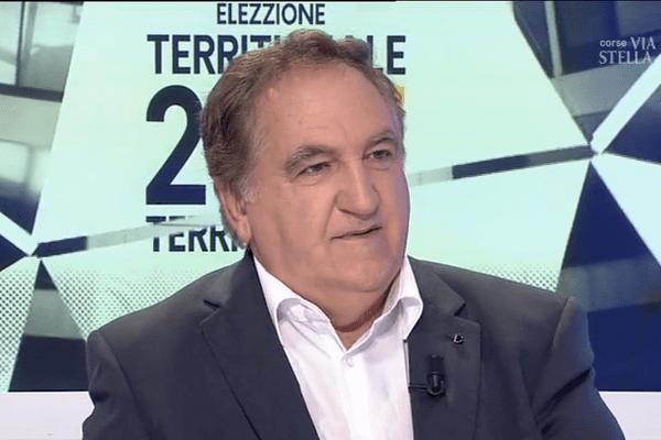 Le maire de Pruno Charles Giacomi est le candidat du Front national pour les élections territoriales en Corse
