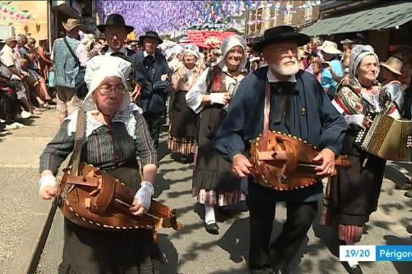 La 99ème Félibrée du Périgord s'est déroulée à St Cyprien cette année, une fête occitane indémodable
