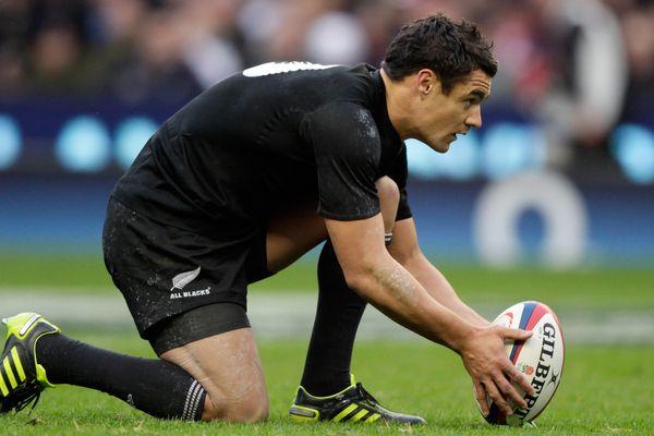 Le néo-zélandais Dan Carter, un des meilleurs joueurs de rugby de la planète.