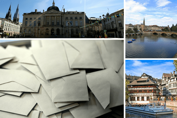 À Châlons-en-Champagne, Metz et Strasbourg, les électeurs se sont déplacés en nombre dans la matinée.