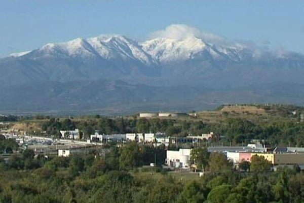 Le Canigou (Pyrénées-Orientales) - premières neiges - 15 octobre 2012.