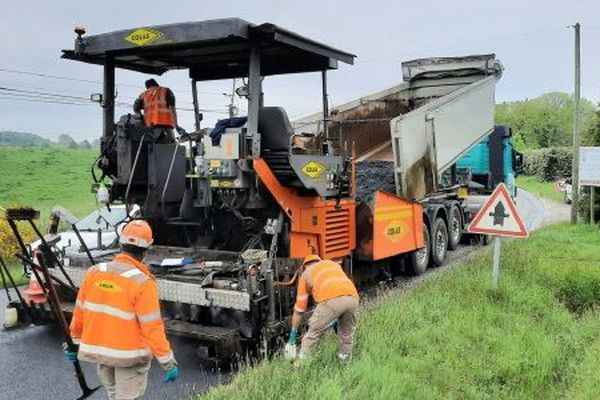 Le conseil départemental de la Corrèze a lancé sa campagne de travaux routiers 2020