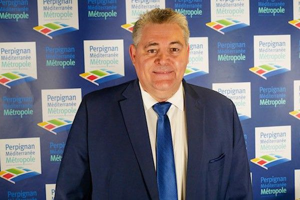 Robert Vila est élu président de la communauté urbaine Perpignan Méditerranée Métropole.