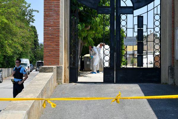 Meurtre de Prescillia dans le cimetière d'Estagel : la jeune femme de 18 ans a été agressée et est morte asphyxiée - 7 juillet 2019.