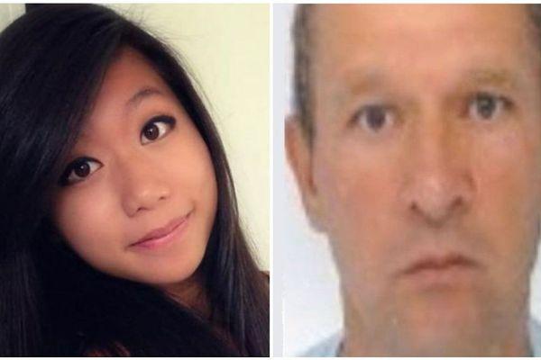 Sophie Le Tan, portée disparue depuis le 7 septembre 2018 et Jean-Marc Reiser, principal suspect, mis en examen pour assassinat, enlèvement et séquestration.