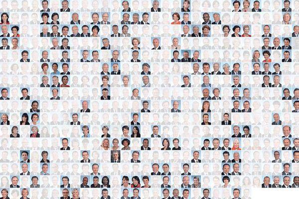 Les députés sortants reconduits en 2017 à l'Assemblée nationale.