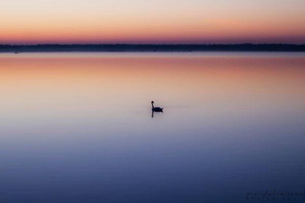 """ #respire #lac #apaisement #petitmatin "" by Renaud Pividal"