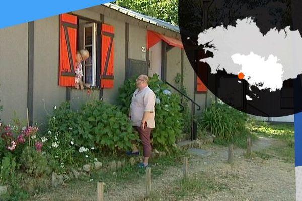 Mickaël, Yvette, et Jean-Claude gardiens des souvenirs des baraques de Soye