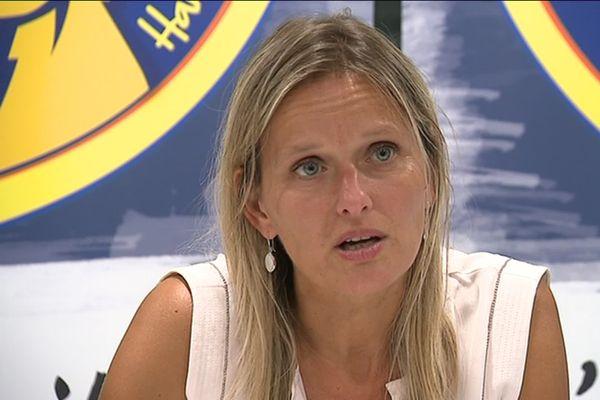 Sophie Palisse, la présidente du Saint-Amand Handball