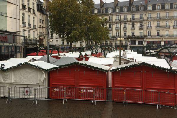 123 chalets s'installent dans le centre-ville de Nantes jusqu'au 24 décembre