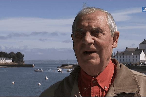 Michel Mazéas, ancien maire de Douarnenez pendant 24 ans