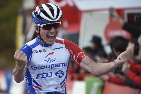 Après deux étapes remportées dans le dernier Tour d'Espagne, David Gaudu affiche ses envies de victoires