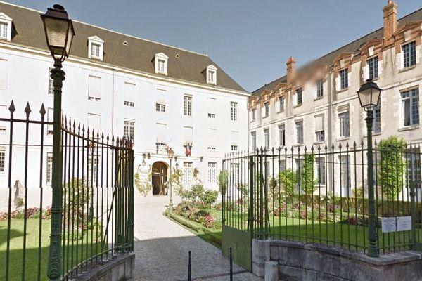 La mairie de Montargis dans le Loiret.