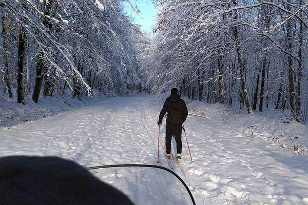 On skie à La Chapelle dans les Ardennes, la seule station des Ardennes