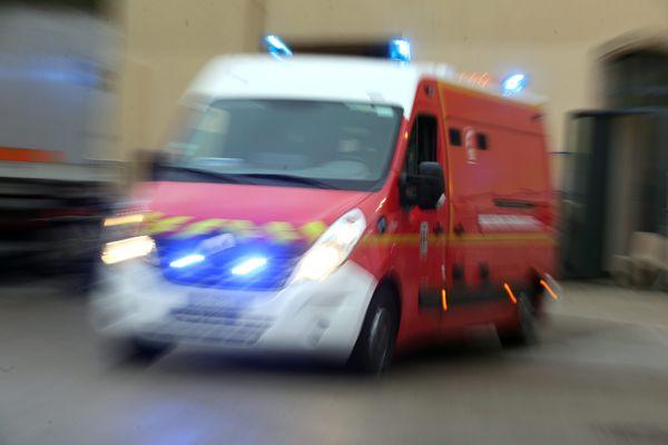 Les pompiers du Haut-Rhin sont intervenus sur l'A35 dans la nuit du vendredi 4 septembre 2020. Une piétonne a été fauchée par un poids lourd.