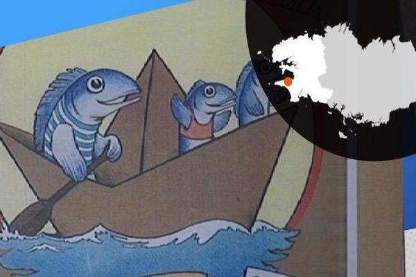 """Cela """"cartonne"""" à Douarnenez et cela donne surtout de drôles d'embarcation !"""