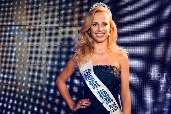 C'est Paméla Texier, originaire de la Marne, qui représentera la Champagne-Ardenne au concours de Miss France 2019