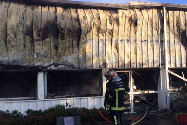 Incendie dans une chocolaterie à Neuville-aux-Bois