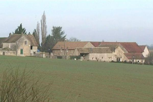 Le domicile de Dieudonné au Mesnil-Simon (Eure-et-Loir) Archives