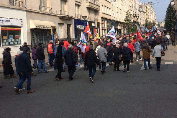 Le 11 avril 2019, les retraités ont manifesté pour la septième fois depuis l'élection d'Emmanuel Macron