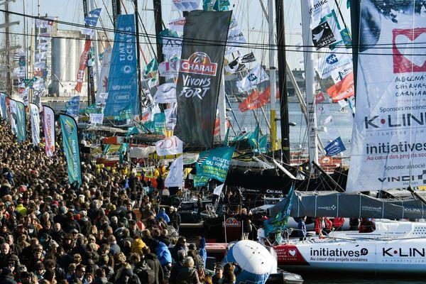 Une flotte impressionnante de 123 bateaux se lance à l'assaut de l'Atlantique ce dimanche pour les 40 ans de la Route du Rhum