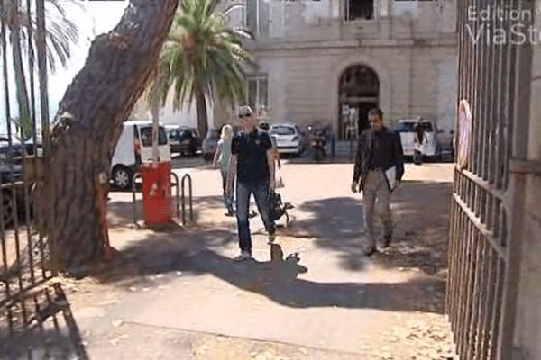 18/06/14 - Elections municipales à Ajaccio perquisition au conseil général de Corse-du-Sud