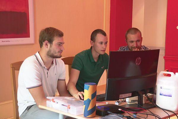Nathis, Ian et Nicolas