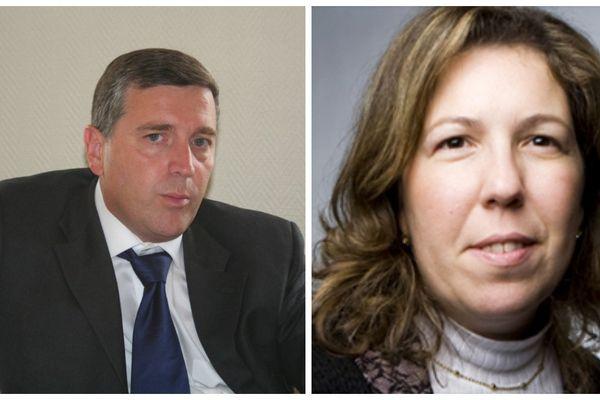 Albéric de Montgolfier et Sandra Renda.