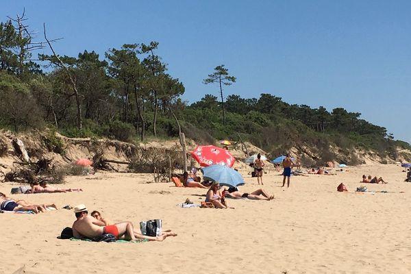 Quelques chanceux ont pu profiter des joies de la plage ce mardi 2 juin en Charente-Maritime.