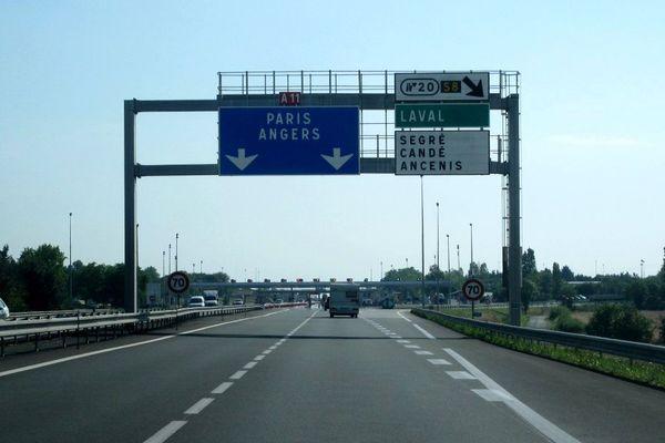 Un nouveau parking de covoiturage sur l'autoroute A11 sera construit à hauteur de la sortie 20